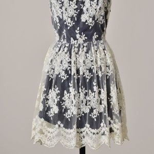 Small Modcloth Sundress Wedding Bridesmaid Lace